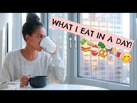 WHAT I EAT IN A DAY AS A BALLERINA | Alison Stroming