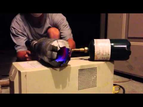 Tin can jet engine