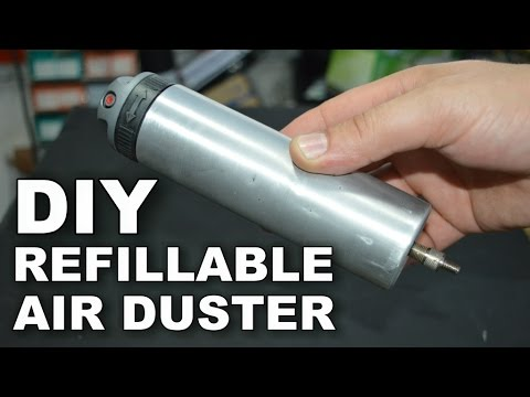How To Make Refillable Air Duster
