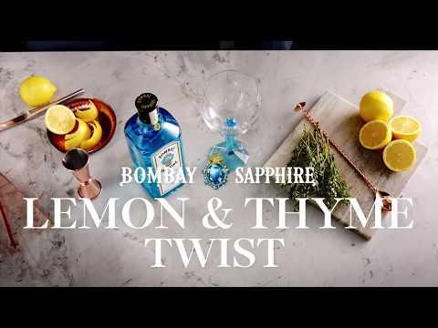 Bombay Summer Gin Of Ten Journeys Lemon Thyme How To