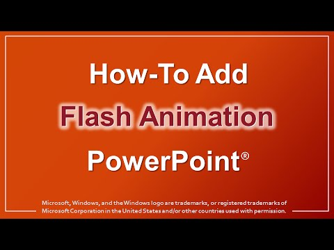 How to Add Flash Animation in PowerPoint