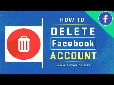 How To Delete Facebook Account Permanently - New Easy Way