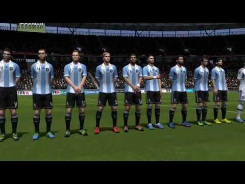 FIFA 14 Gameplay - 3- Germany Vs Argentina (Full Game)