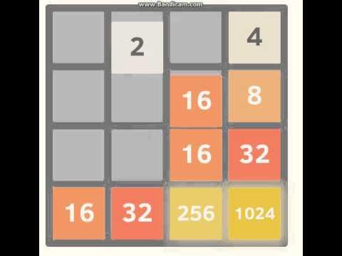 2048 Game Startegies Tips & Tricks