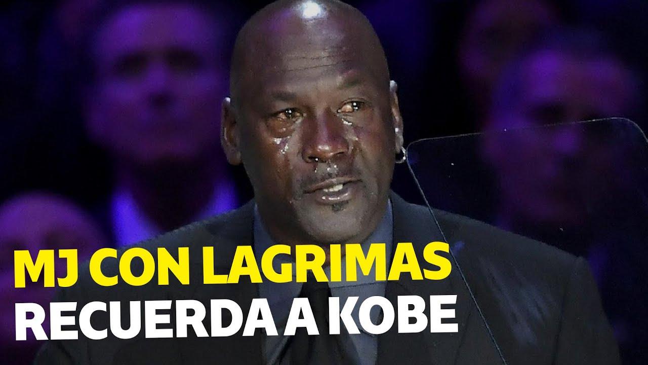 Michael Jordan recuerda con lágrimas a Kobe Bryant