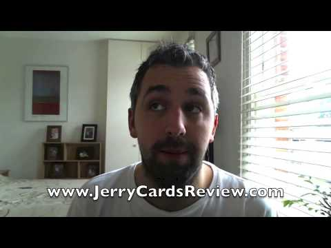 UK user reviews Jerry Cards for use on the iTunes store