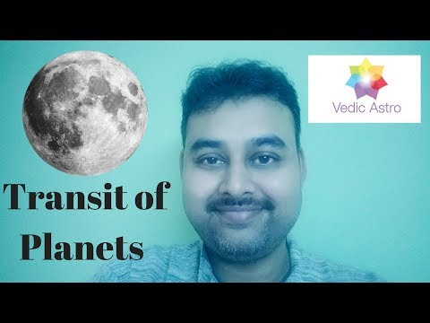 How to Study Transits in Astrology - Moon Chart