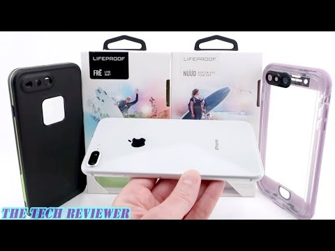 FRE or NUUD? Which LifeProof Case to Choose for iPhone 8 Plus??