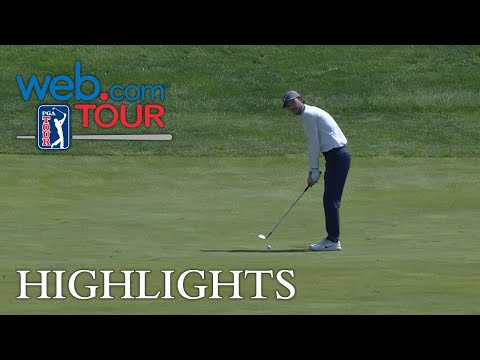 Michael Hebert's hole out approach for Shot of the Day