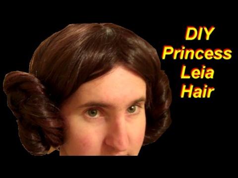 DIY Princess Leia Costume Part 1: The Hair