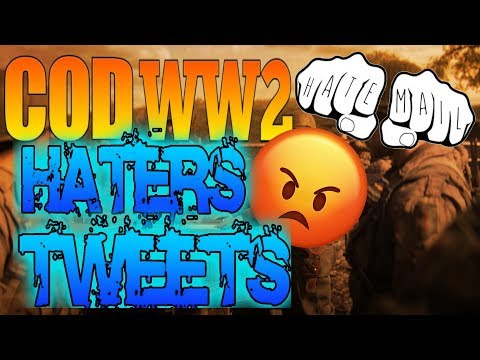 Reading COD WW2 Haters Tweets | MW3 Resistance Remake -