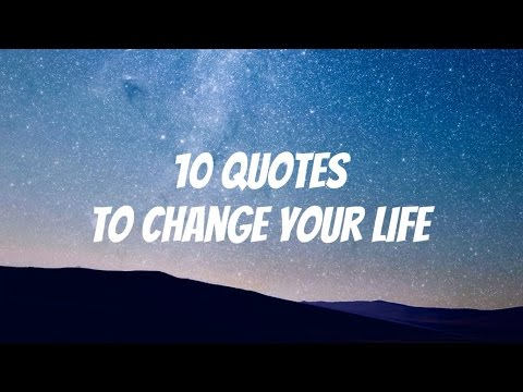 10 Inspirational Quotes to Change Your Life with Motivational Music