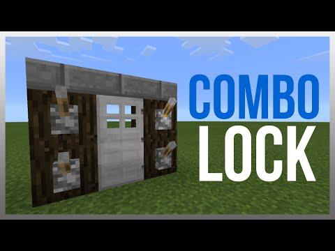 MCPE 0.16.1: Redstone Tutorial - Combination Locked Door!