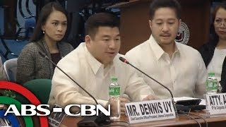 WATCH: Davao-based tycoon Dennis Uy attends Senate hearing on third telco player | 24 January 2019