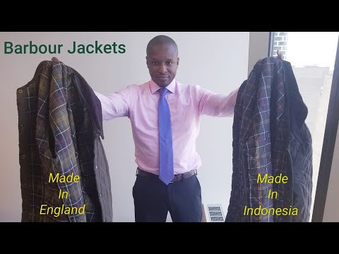 Barbour Jackets Showdown: Made In England VS Made Elsewhere!