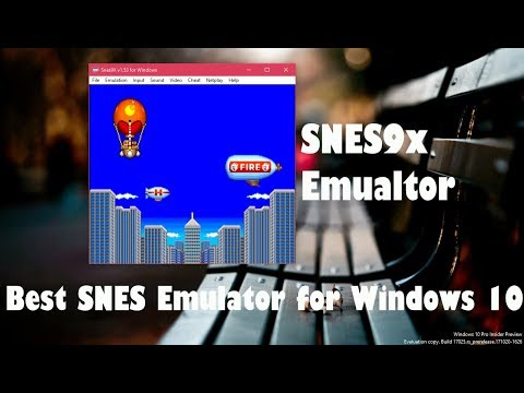 Snes9x - The Best SNES Emulator for Windows 10 PC