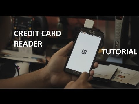 How To Use The Square Credit Card Reader With Your Phone. Get It For Free.