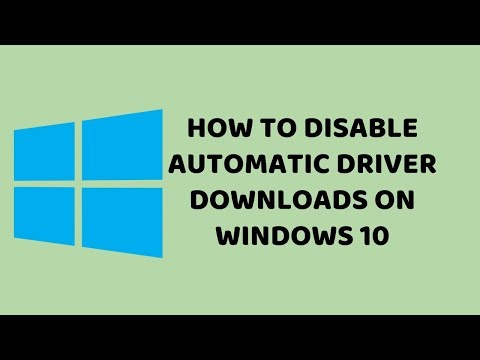 How to Disable Automatic Driver Downloads on Windows 10 | Tutorials in Hindi