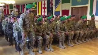 "Pakistan Army team won Gold Medal in ""Exercise Cambrian Patrol"" held in UK."
