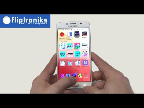 Samsung Galaxy S6: How to Quickly Invert Screen Color With Home Key - Fliptroniks.com