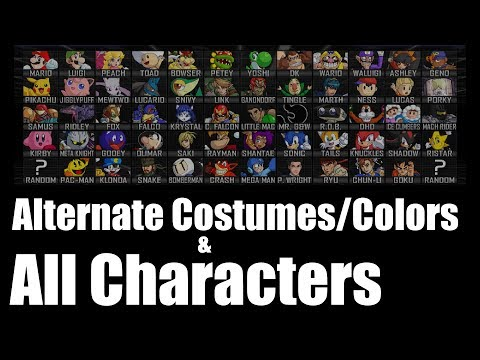Super Smash Bros Crusade v0.9.1 - Alternate Costumes/Colors & All Characters