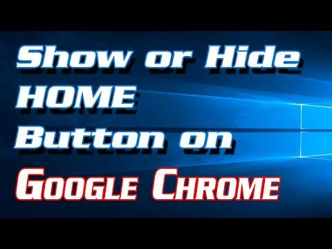 How to Show or Hide HOME Button in Google Chrome | Definite Solutions
