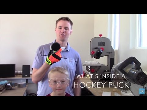What's inside a Hockey Puck?