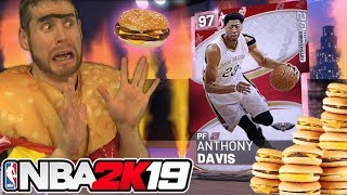 I became a Cheeseburger for NBA 2K19