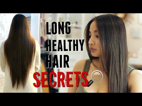 HAIR CARE ROUTINE FOR LONG, COLOR TREATED HAIR