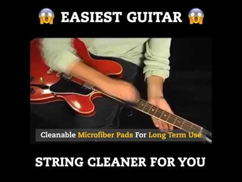 Guitar String Cleaner!!