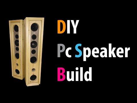 DIY Pc Speaker Build