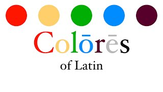 The Colors of Latin