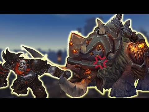 Ironhoof Destroyer Rare Mount Guide - Blackrock Foundry Mythic Solo Guide