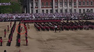 Guardsman collapses during Queen