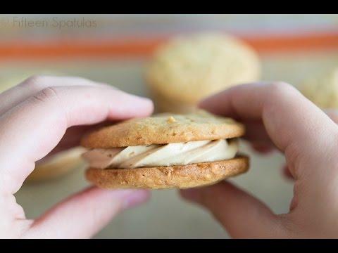 Peanut Butter Sandwich Cookies + Tumor Update/GOOD NEWS!