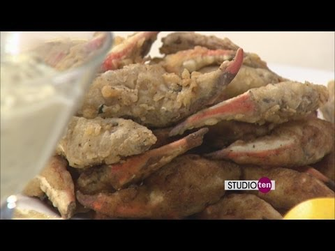Studio 10: fried jumbo gulf crab claws