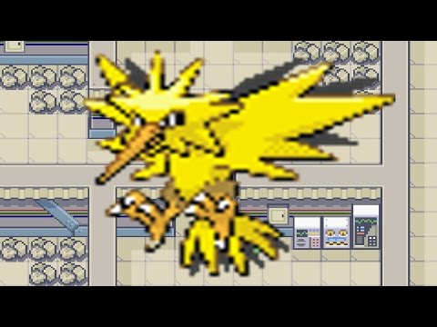 How to find Zapdos in Pokemon Fire Red & Leaf Green