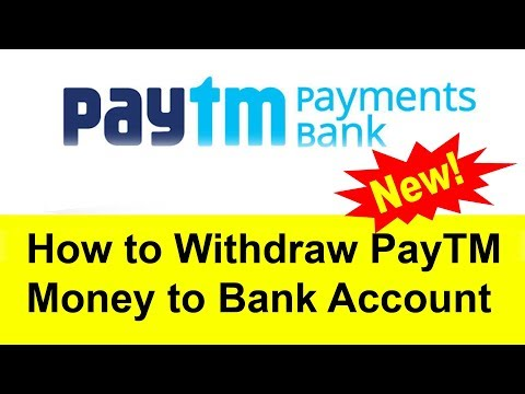 How to Withdraw Paytm Money to Bank Account | Tamil Banking