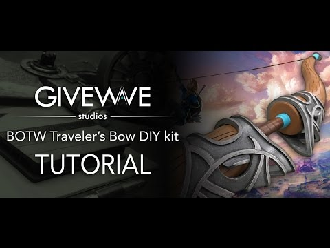 Link's breath of the Wild  Traveler's Bow cosplay DIY kit Tutorial