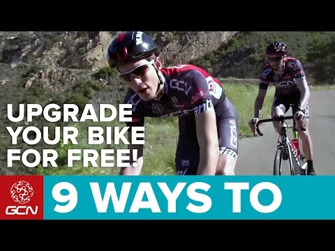 9 Ways To Upgrade Your Road Bike Without Spending Any Money