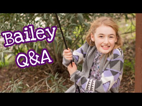 Bailey Q and A