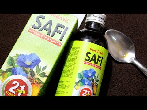HAMDARD SAFI REVIEW MADE SIMPLE | Best GLOWING SKIN in 21 Days Ever