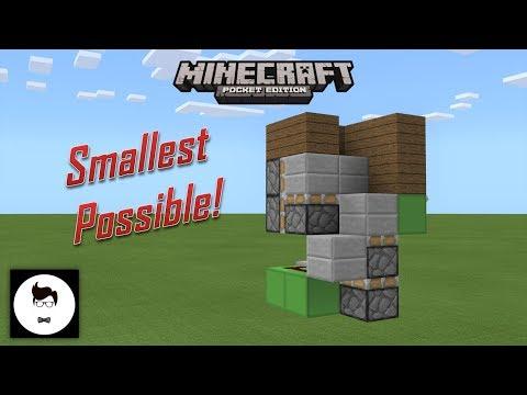 Minecraft PE SMALLEST SPIRAL STAIRCASE (PE/Xbox/Windows10/Switch)