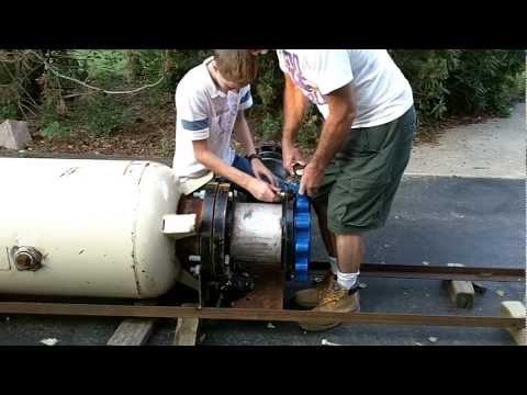 BUILDING A PUNKIN CHUNKIN AIR CANNON (CONTINUED)