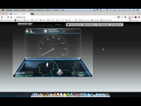 Interference BT Wifi MBP Retina - Speedtest