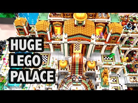 LEGO Palace in Wonderland | Bricks Cascade 2018