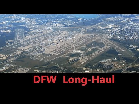DFW Airport Long-Haul Flights
