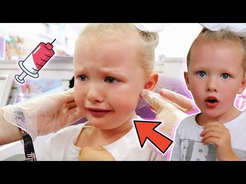 SHOCK SURPRISE! - 5 YEAR OLD GETS HER EARS PIERCED FOR THE FIRST TIME! #EMOTIONAL