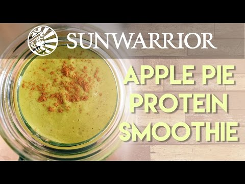 Apple Pie Protein Smoothie | Party in my Plants