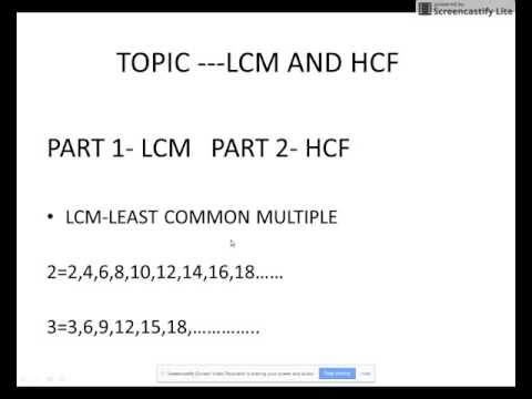 LCM WITH REAL LIFE EXAMPLE MATH SERIES LEARN SKILLS 4U